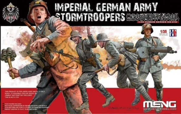 1/35 Imperial German Stormtroopers