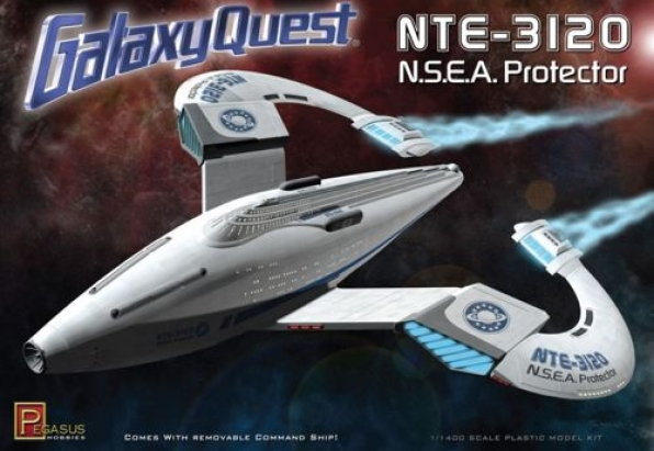 1/1400 NTE-3120 N.S.E.A Protector from smash hit film 'Galaxy Quest'