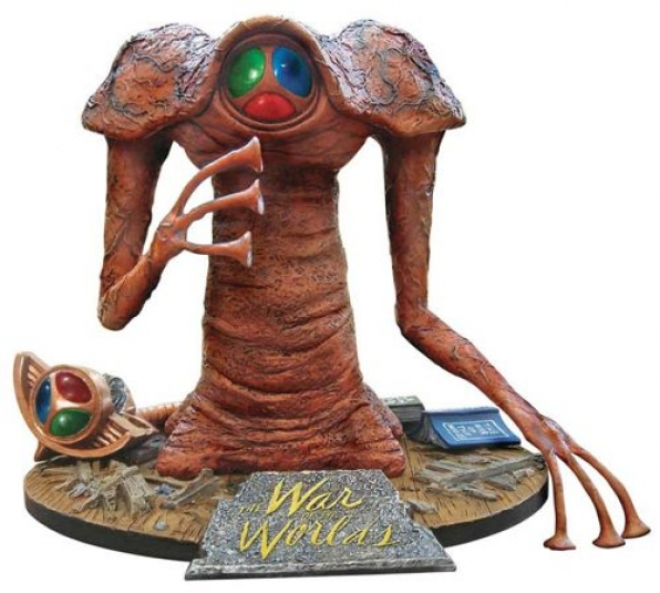 1/8 The 'Martian' figure from the classic 1953 sci-fi movie 'The War of the Worlds'