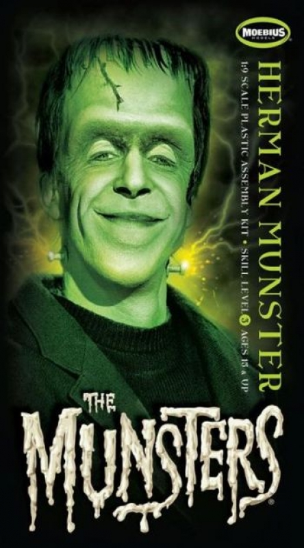 1/9 Herman Munster