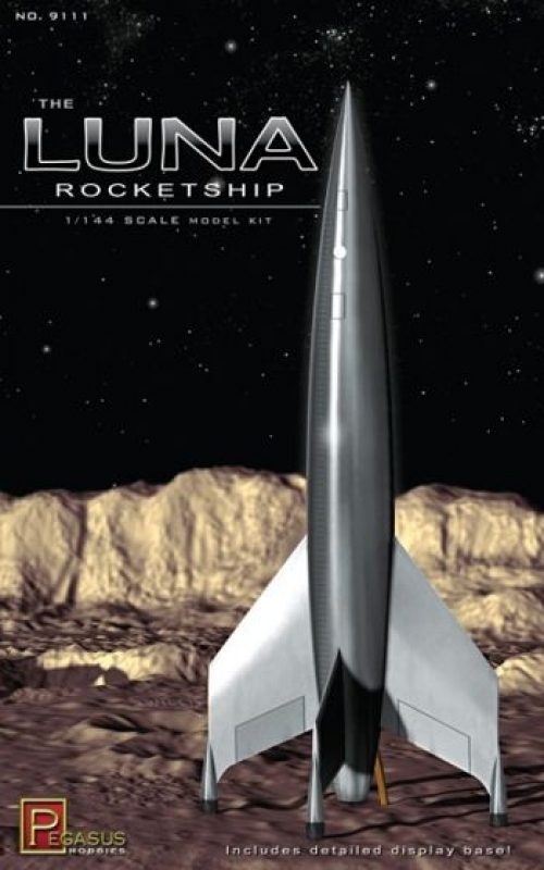 1/144 The Luna Rocketship