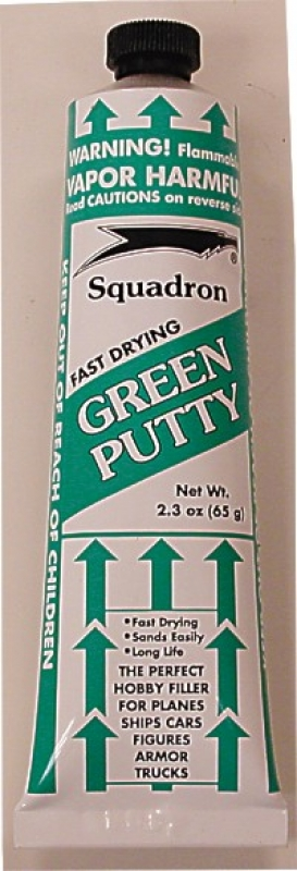 Green Putty 2.5oz Tube