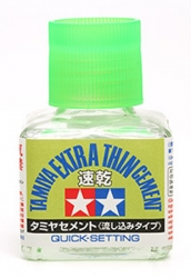 Tamiya EXTRA THIN Cement 40ml (Quick Dry)